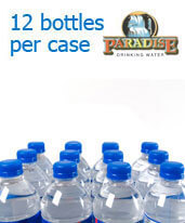 1 Liter Purified Water Bottles Orange/LA County