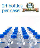 Half Liter Purified Bottled Water Orange/LA County
